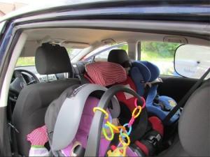 rückwärtsgerichtete Kindersitze sind sicherer